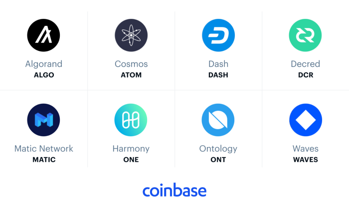 new coins in coinbase